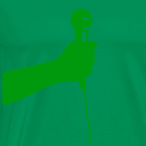 microphone (green)