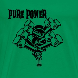 SERVICE Kollektion pure power schwarz 1 - Männer Premium T-Shirt