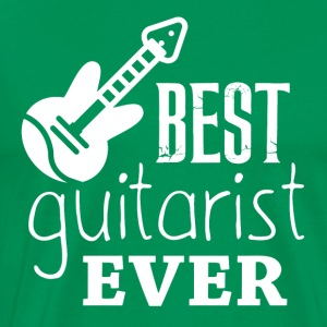 The best GUITARIST - Men's Premium T-Shirt