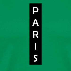 Paris Vertical - Mannen Premium T-shirt