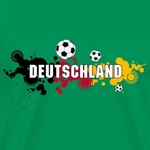 Germany Soccer World Champion Black Red Gold - Men's Premium T-Shirt