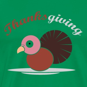 Thanks Giving turkey holiday dinner dinner - Men's Premium T-Shirt