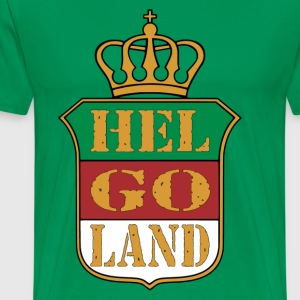 Helgoland coat of arms logo - Men's Premium T-Shirt