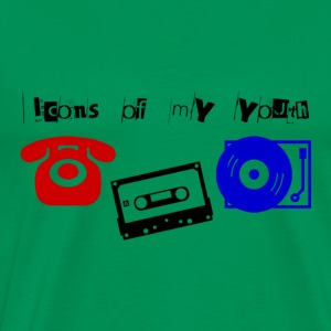 Icons of my Youth - Vol. 1 - Männer Premium T-Shirt