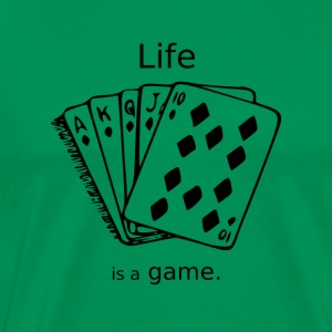 life is a game - Men's Premium T-Shirt