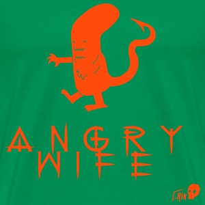 ANGRY WIFE - Men's Premium T-Shirt