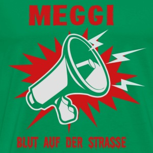 MEGGI - blood on the street - Men's Premium T-Shirt