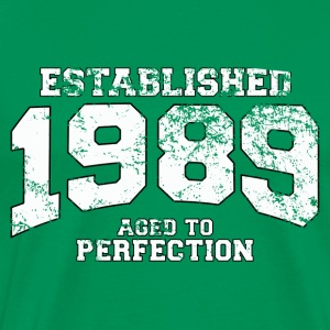established 1989 - aged to perfection (fr)