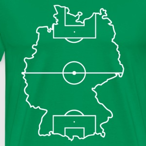 Football Allemagne - T-shirt Premium Homme