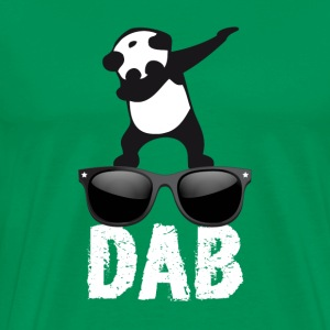 dab panda glasses dabbing Dance Football fun cool l - Men's Premium T-Shirt