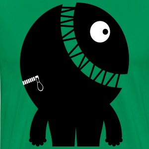 Froehlicher Clemens - Space Monster Collection - Männer Premium T-Shirt