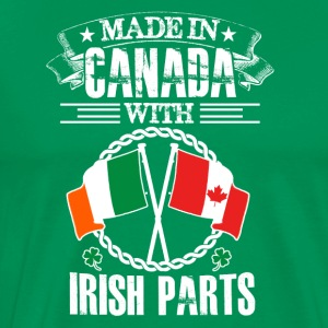 Made in Canada with Irish Parts - Men's Premium T-Shirt