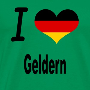 I Love Germany Home Geldern - Männer Premium T-Shirt