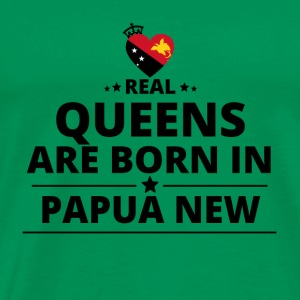 GIFTS QUEENS LOVE FROM PAPUA NEW GUINEA - Men's Premium T-Shirt