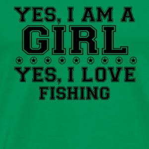 yes gift on a girl love bday gift data set 53 - Men's Premium T-Shirt