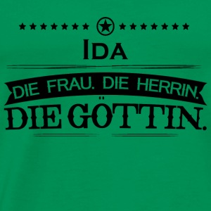 birthday legend goettin ida - Men's Premium T-Shirt