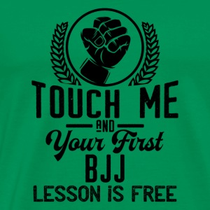 Touch me - first BJJ lesson free - black