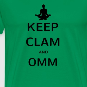 KEPP CLAM AND OMM - Männer Premium T-Shirt