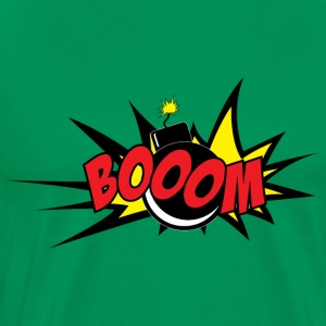 booom - Premium-T-shirt herr