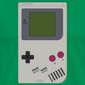 Old School Gaming - Mannen Premium T-shirt