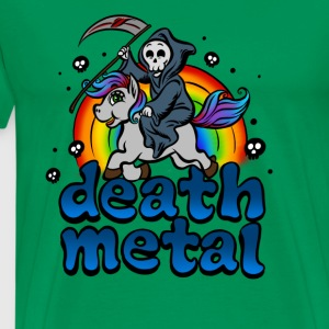 Death Metal Pony T-Shirt - Men's Premium T-Shirt