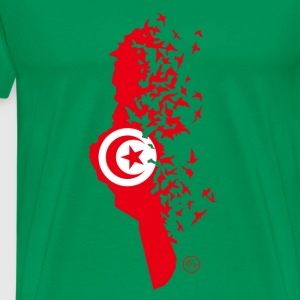 Flying/Tunisia - T-shirt Premium Homme