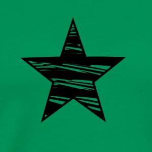 Black Star - Star shirts - Herre premium T-shirt