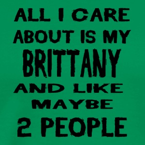 All i care about is my BRITTANY - Men's Premium T-Shirt