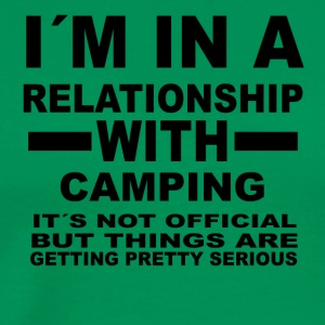 relationship with CAMPING - Männer Premium T-Shirt