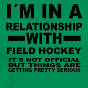 Relationship with FIELD HOCKEY - Men's Premium T-Shirt