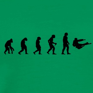 Fighting Evolution Evolution MMA Kick Fighting Martial Arts - Men's Premium T-Shirt