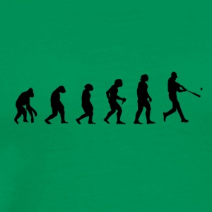 Baseball Evolution Legends Pitcher prank - Men's Premium T-Shirt