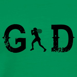 Legend god god tennis star wimbledon - Men's Premium T-Shirt