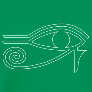 Eye of Ra hvid - Herre premium T-shirt