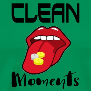 CLEAN MOMENTS - Premium-T-shirt herr