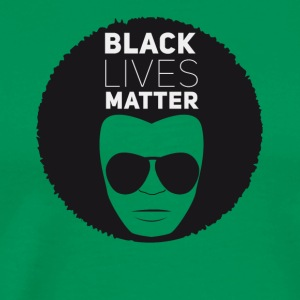 black lives matter liberation disco afro black su - Men's Premium T-Shirt