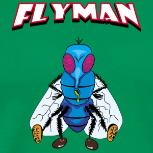 Fly Man - Herre premium T-shirt