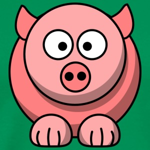 Pig cartoon 2 - Men's Premium T-Shirt