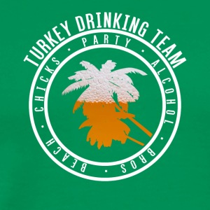 Shirt party holiday - Turkey - Men's Premium T-Shirt