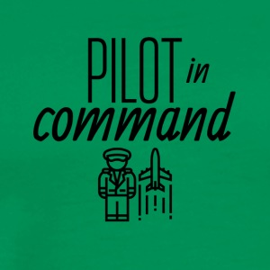 Pilot in command - Men's Premium T-Shirt