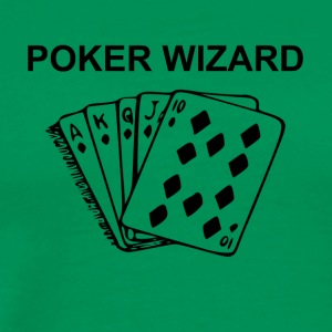 Poker Wizard - Men's Premium T-Shirt