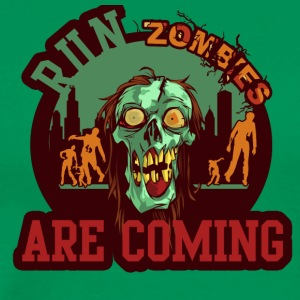 Zombies Run ARRIVENT - T-shirt Premium Homme