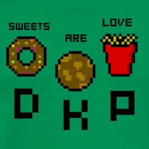 Sweets Are Love - DKP - Mannen Premium T-shirt
