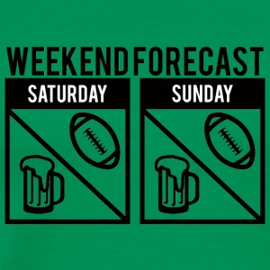 Super Bowl / Football: Weekend Forecast - Men's Premium T-Shirt