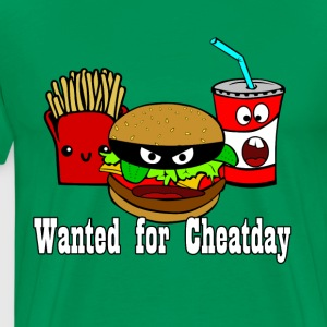 Cheatday: Burger, Pommes, Softdrink - Männer Premium T-Shirt