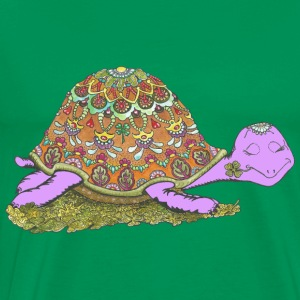 Thumbs up the turtle - Men's Premium T-Shirt