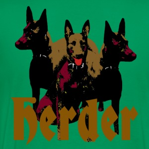 Herder, malinois, chien de service, chiens policiers, sports canins - T-shirt Premium Homme