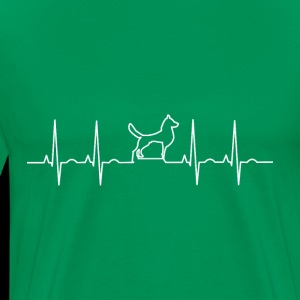 Heartbeat Dog. Pulse Dog. Dog Lover