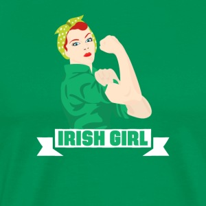 Funny Irish Girl St. Patricks Holiday Green
