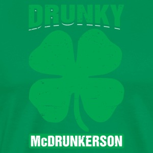 Drunky Mcdrunkerson Rolig St Patricks Day Drinking